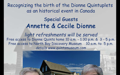 Birth of the Dionne Quints Commemorative Event