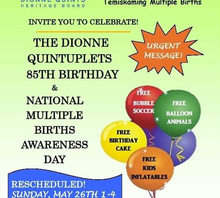 The Dionne Quintuplets 85th Birthday