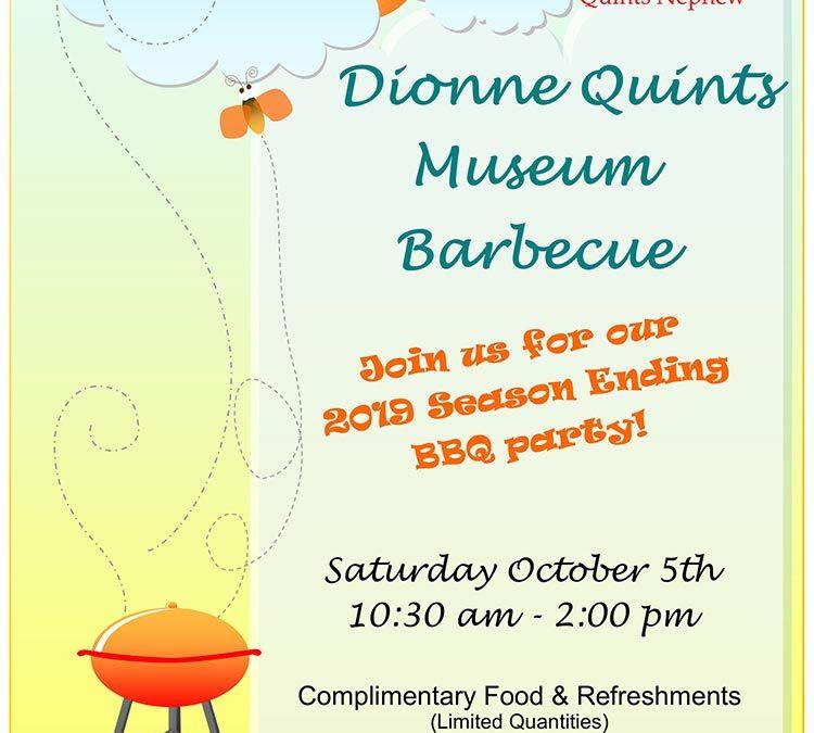 Dionne Quints Museum Barbecue